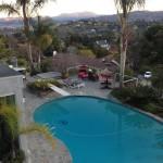 Entertainig pool area