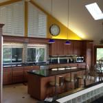 Interior of home kitchen